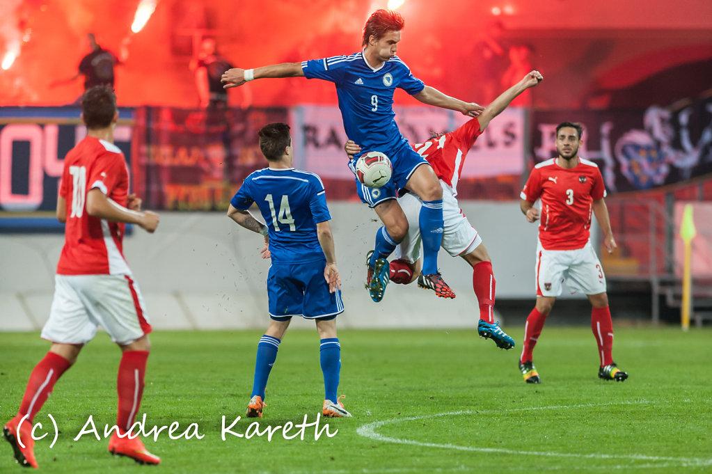 U21 Oesterreich vs Bosnien-Herzegowina