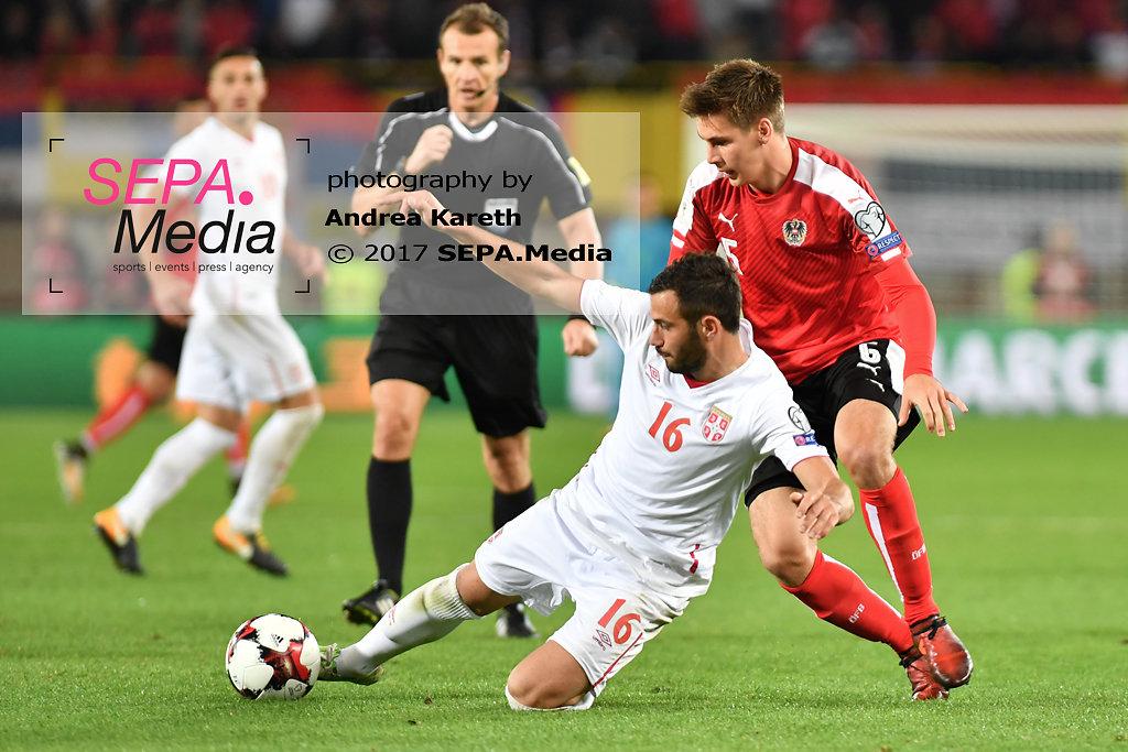 FIFA WM-Qualifikation - Oesterreich vs Serbien
